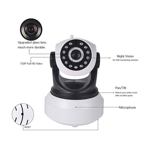 WIFI IP Wireless Camera