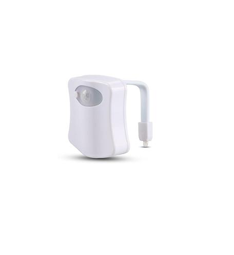 Colorful Motion Sensor Toilet Bowl LED Night Light