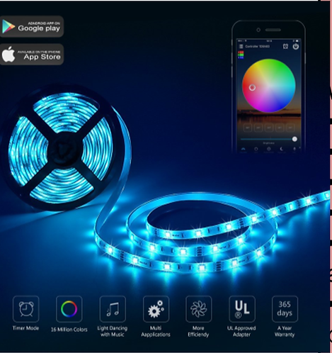 Wi-Fi 7-color Smart Light Strip