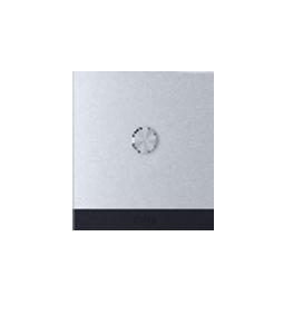Orvibo-ZigBee ON/OFF Switch(CN type,1 Gang neutral 100- 240V), grey aluminium