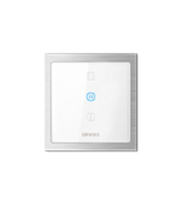 Orvibo-Zigbee curtain switch(CN type neutral 100-240V)-Glass panel