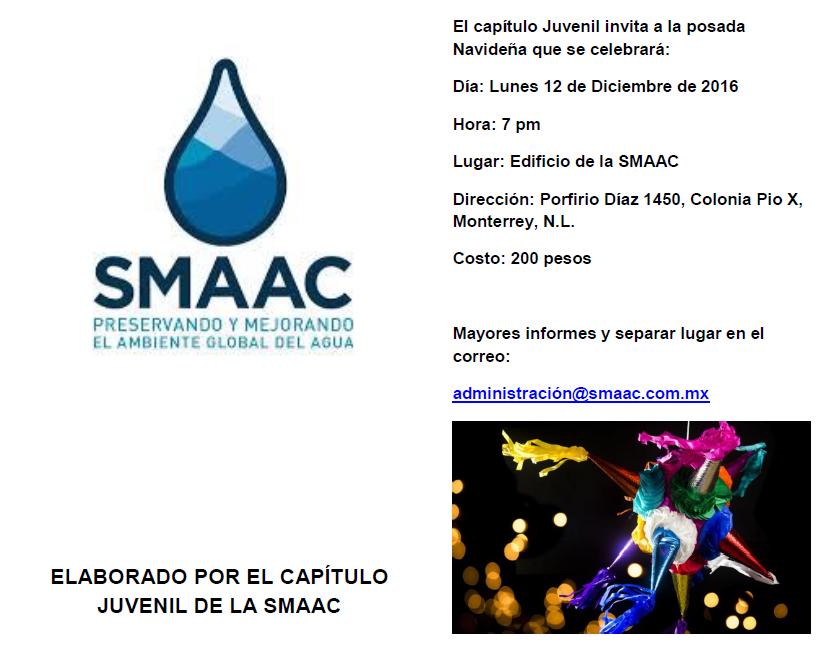 Invitación a nuestra Posada Diciembre 2016 del Comité Juvenil