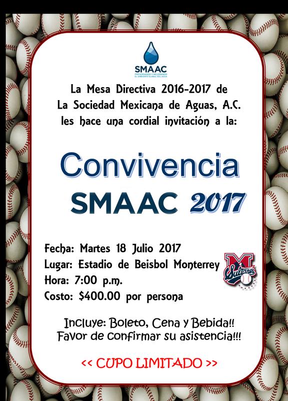 INVITACIÓN A CONVIVENCIA 18 JUL 2017