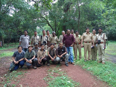 Training workshop for the Forest Department Staff at Cotigao WLS - September 2016