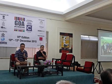 Goa Art & literature Festival - December 2015