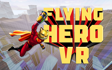 Flying Hero VR Logo