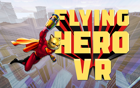 Flying Hero VR Logo