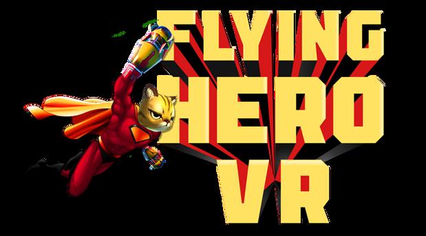 Flying Hero VR Logo - Transparent