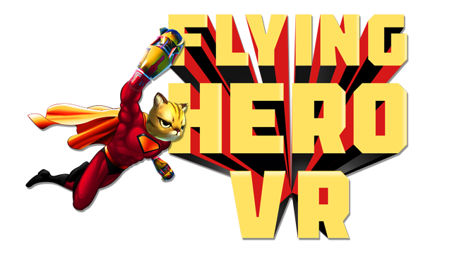 Flying Hero VR Logo - Transparent