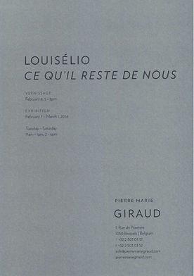 Louiselio ceramique, Pierre Marie Giraud, 2014