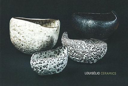 Louiselio céramique, urs von unge gallery, 2017