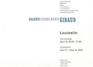 Louiselio ceramique, Pierre Marie Giraud, 2008