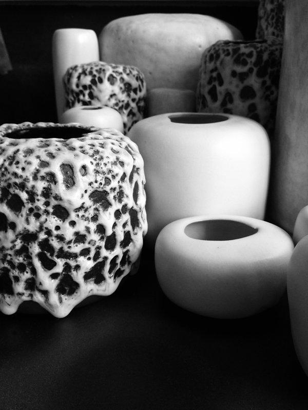 Louiselio céramiques, composition grès émaillé.