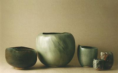 Louiselio ceramique, Romanet Gallery, 2006