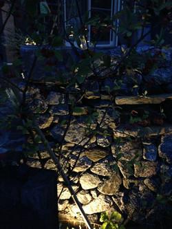 幡豆石壁ライティング