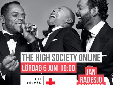 LiveArena producerar stödkonsert för Röda Korsets Corona-arbete