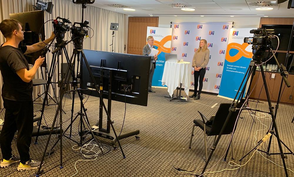 LiveArena sände live från FAI:s konferens