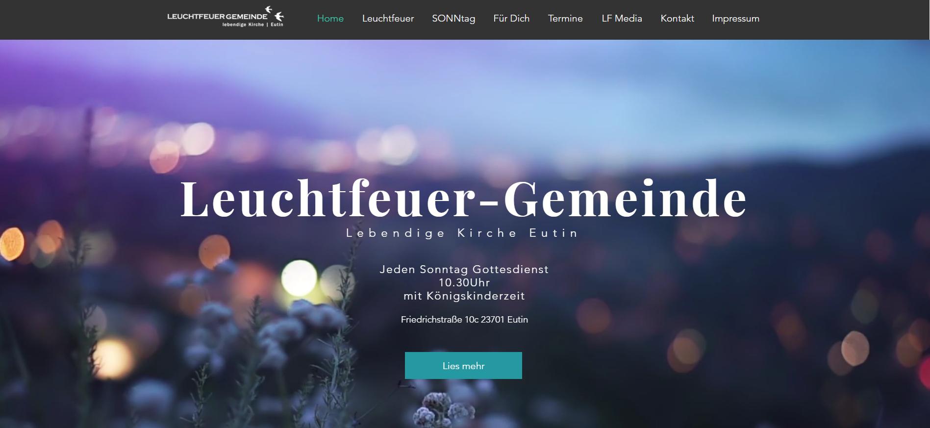 Leuchtfeuer Gemeinde Eutin | Startseite