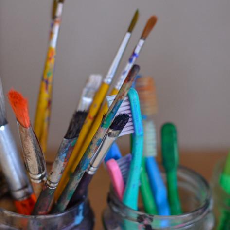 Vielfältiges kreatives Gestalten