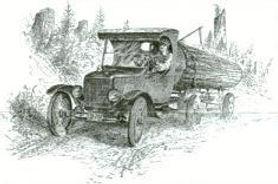 116 Model T Log Truck.JPG