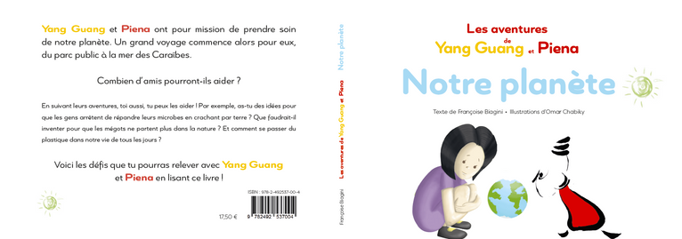 Couverture pour l'auteure Françoise Biagini et l'illustrateur Omar Chabiky, 2020.