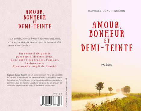 Couverture pour le poète et comédien Raphaël Béaur-Guérin, 2021.