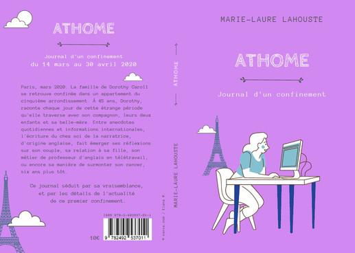 Couverture pour l'auteure Marie-Laure Lahouste, 2020.
