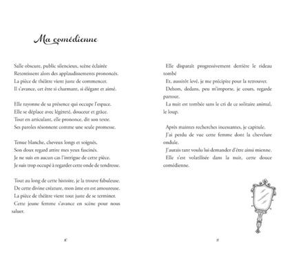 Mise en page pour le poète Raphaël Béaur-Guérin, 2021.