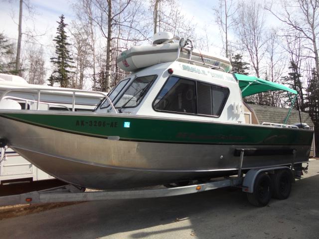 2002 Hewescraft 26' Alaskan Sea Runner