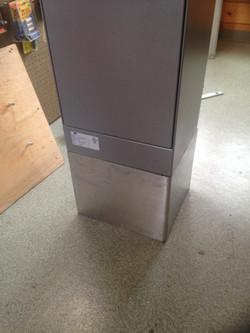 Custom aluminum box