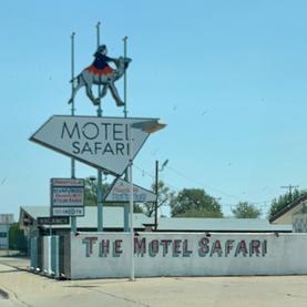Motel Safari in Tucumcari, NM