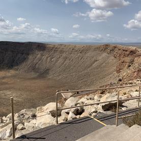 Meteor Crater in Winslow, AZ