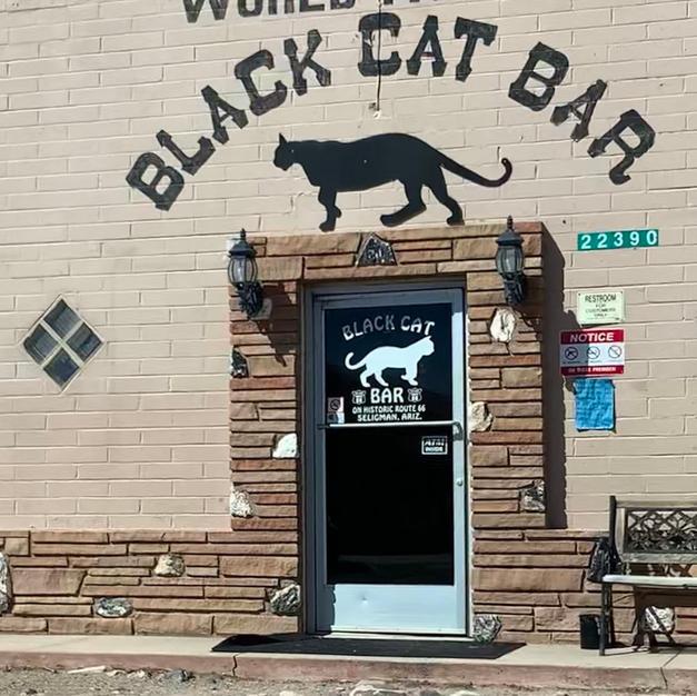 Black Cat Bar in Seligman, AZ
