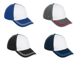 6 Panel District Cap Colour Options