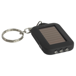 Solar Flashlight Keyring