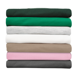 Many different colours and sizes