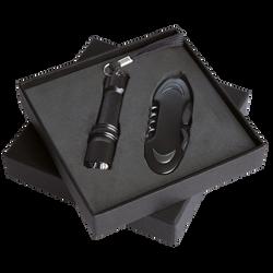 Flashlight & Pocket Knife Set