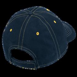 6 Panel Microfibre Stitch Cap