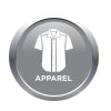 A range of branded clothing, incl. golf shirts, t-shirts, lounge shirts, headwear and much more!