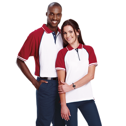 Mens & Ladies Panel Pro Golf Shirt