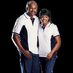 Two-Tone Golf Shirts