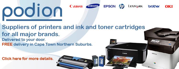 Printer ink & toner cartridges for all major printer brands.
