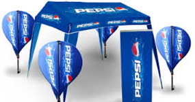 Printed Banners, Gazebos & Flags in Cape Town South Africa.
