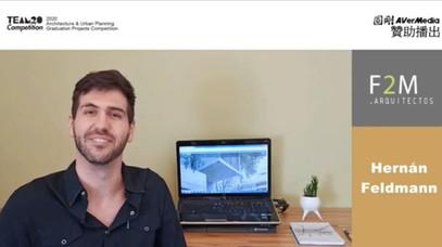 "Arq. Hernán Feldmann @""2020 Architecture & Urban Planning Projects Competition"""