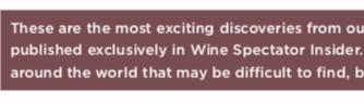 2018-08 Insider Wine Spectator - Gigondas Le Poste & Le Claux 2016