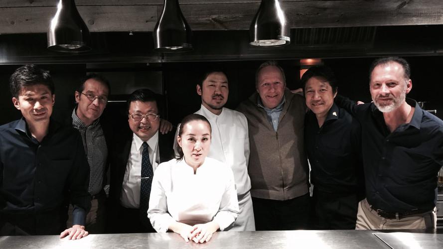 With Ishida san best Asian Sommelier