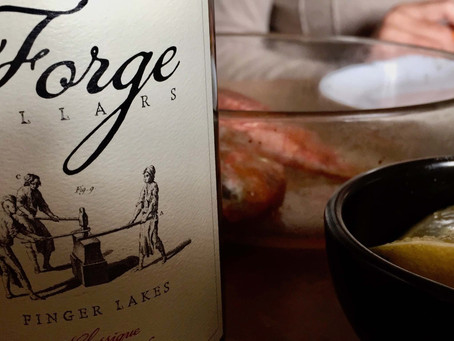 Rougets & Forge Cellars Riesling