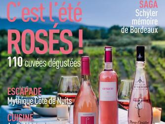 Terrasses Rosé 2018 in Terre de Vins Magazine