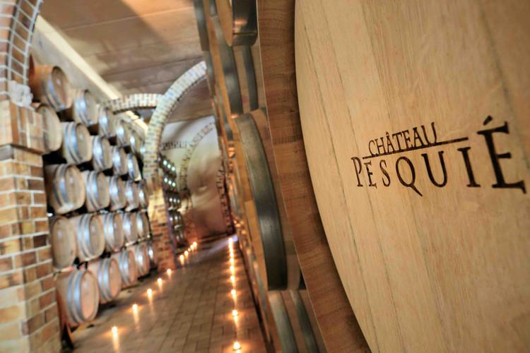 Ageing Cellar Château Pesquié