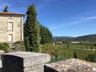 Visiting Louis Barruol's Château de Rouanne in Vinsobres